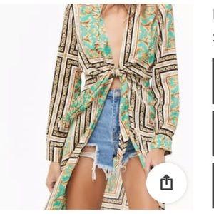 Jackets & Blazers - Darling tie Kimono